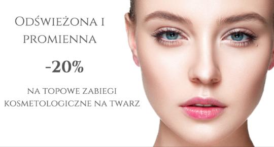 Odświeżona i promienna – Promocja na topowe zabiegi kosmetologiczne na twarz