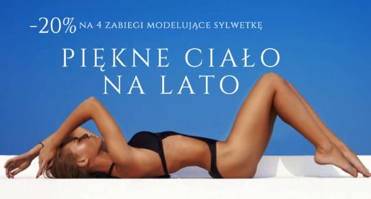 Piękne ciało na lato – promocja na 4 zabiegi modelujące sylwetkę